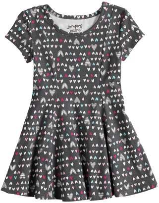 Toddler Girl Jumping Beans Princess Seam Printed Dress