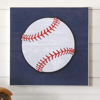 Birch Lane Kids Baseball Sports Center Wall Art