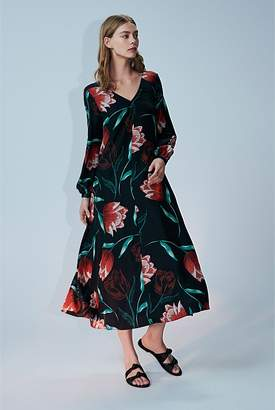 Country Road Tulip Print Maxi Dress