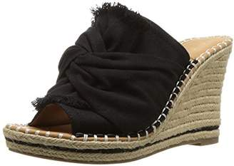 Sugar Women's Honora Slip-on Open Back Espadrille Wedge Sandal
