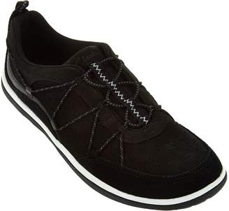 Clarks Outdoor Leather Bungee Lace-up Sneakers - Aria Flyer