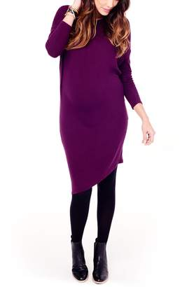 Ingrid & Isabel R) Asymmetrical Maternity Dress