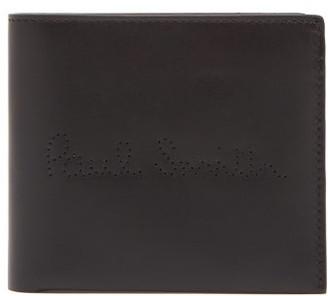 Paul Smith Leather Bi Fold Wallet - Mens - Black