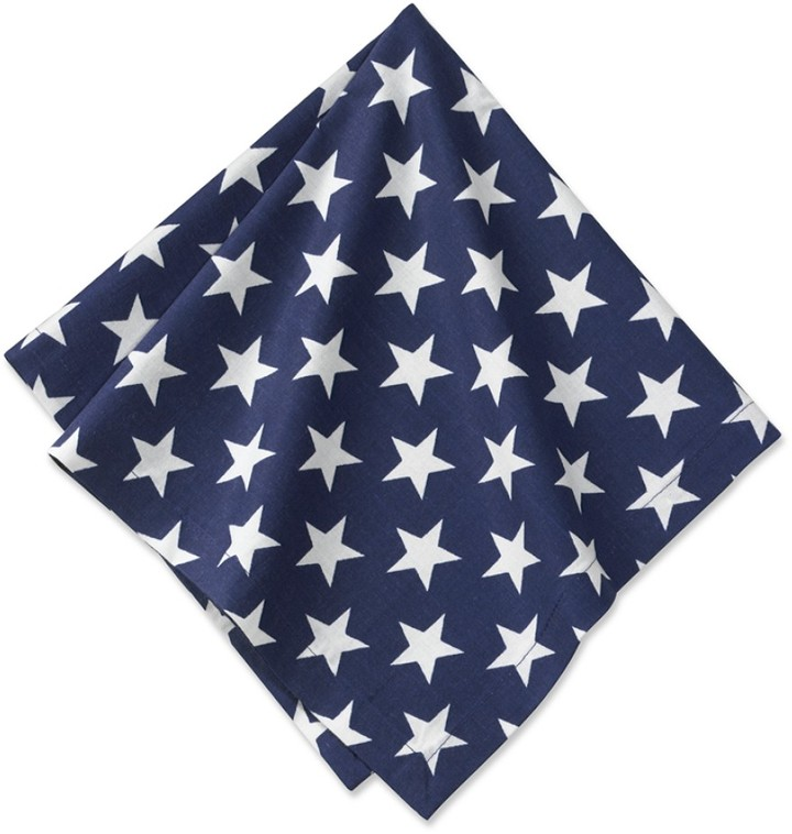 Williams-Sonoma Stars & Stripes Napkins, Set of 4