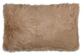 LUX FAUX FUR Belton Rectangular Faux Fur Pillow