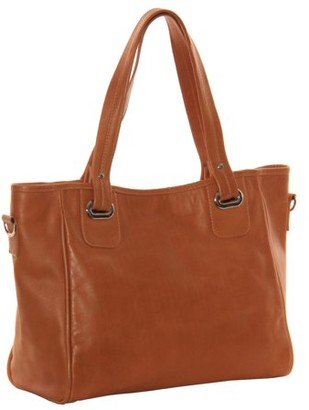 Piel Leather OPEN TOTE/CROSS BODY BAG