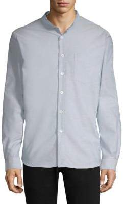A.P.C. Collarless Button-Down Sportshirt
