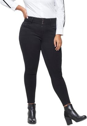 Miss Shop Anna Hw Ankel Jeans Black