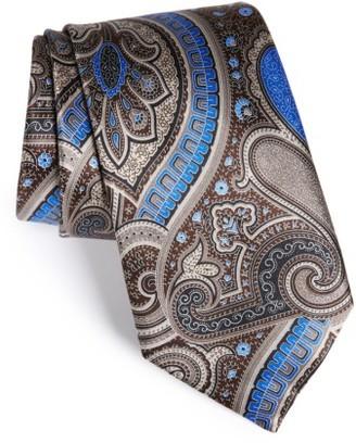 Men's Ermenegildo Zegna Paisley Silk Tie $195 thestylecure.com