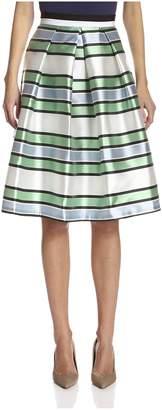 Beatrice. B Women's Striped Skirt
