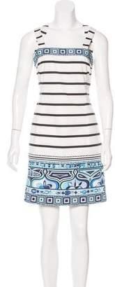 Emilio Pucci Mixed Print Mini Dress