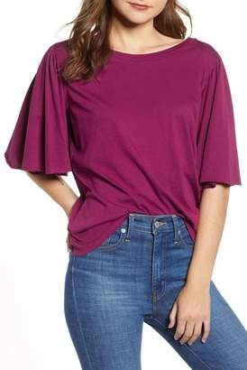 BP Flutter Sleeve Tee (Regular & Plus Size)