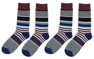Lifeshop New Everyday,Party Use Men's Colourful Socks- style 3