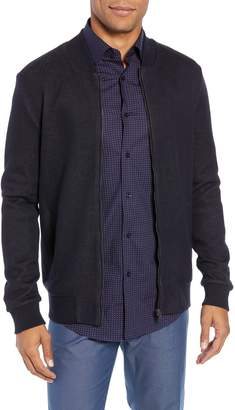 BOSS Salea Slim Fit Sweatshirt Jacket