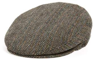 Bailey Lord Herringbone Wool Driving Cap