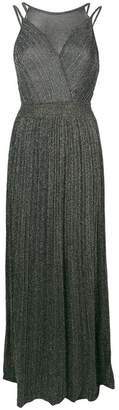 M Missoni metallic sheen long dress
