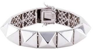 Eddie Borgo Pyramid Link Bracelet