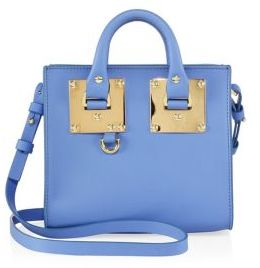Sophie Hulme Mini Leather Box Tote $595 thestylecure.com