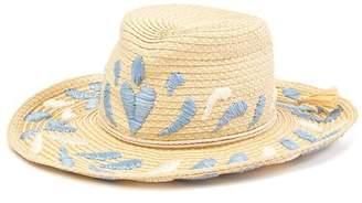 Eric Javits Corsica Patterned Cowboy Hat