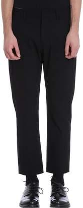 Attachment Black Chino Cotton Pants