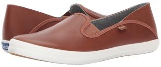 Keds - Crashback Leather Women's Slip on Shoes $65 thestylecure.com