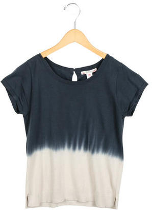 Bonpoint Girls' Dip-Dye Knit Top $55 thestylecure.com