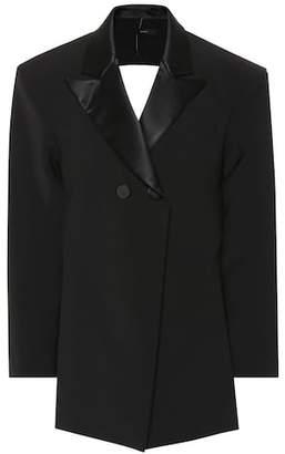 Ellery Incognito backless blazer