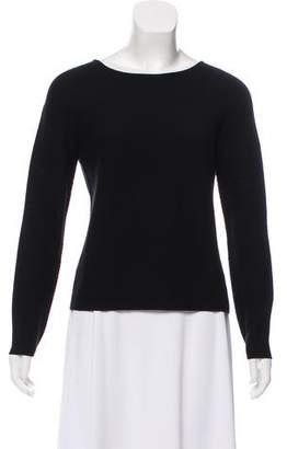 Giorgio Armani Long Sleeve Knit Sweater
