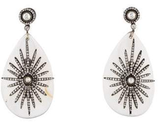 Amrapali Agate & Diamond Drop Earrings