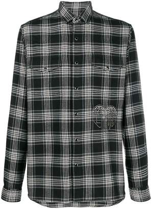 Valentino checked button shirt