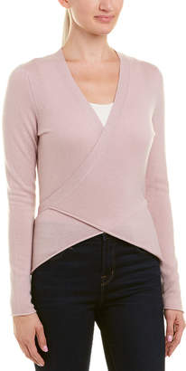 Brown Allen The Wool & Cashmere-Blend Wrap Top