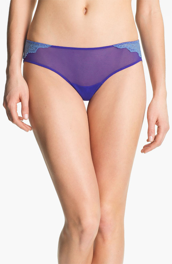 OnGossamer 'Veiled Lace' Thong