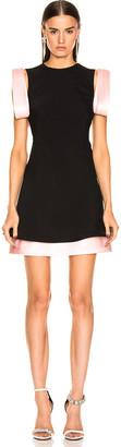 Calvin Klein Two Tone Dress in Black Pink | FWRD