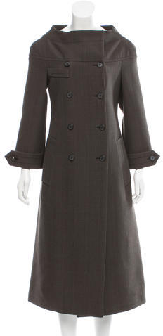 prada Prada Wool Double-Breasted Coat