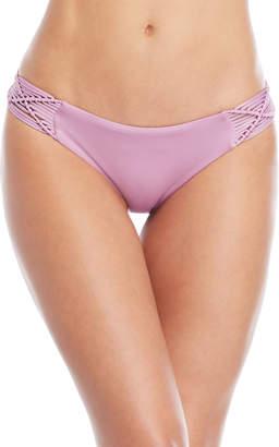 Dolce Vita Lavender Macrame Hipster Bikini Bottoms