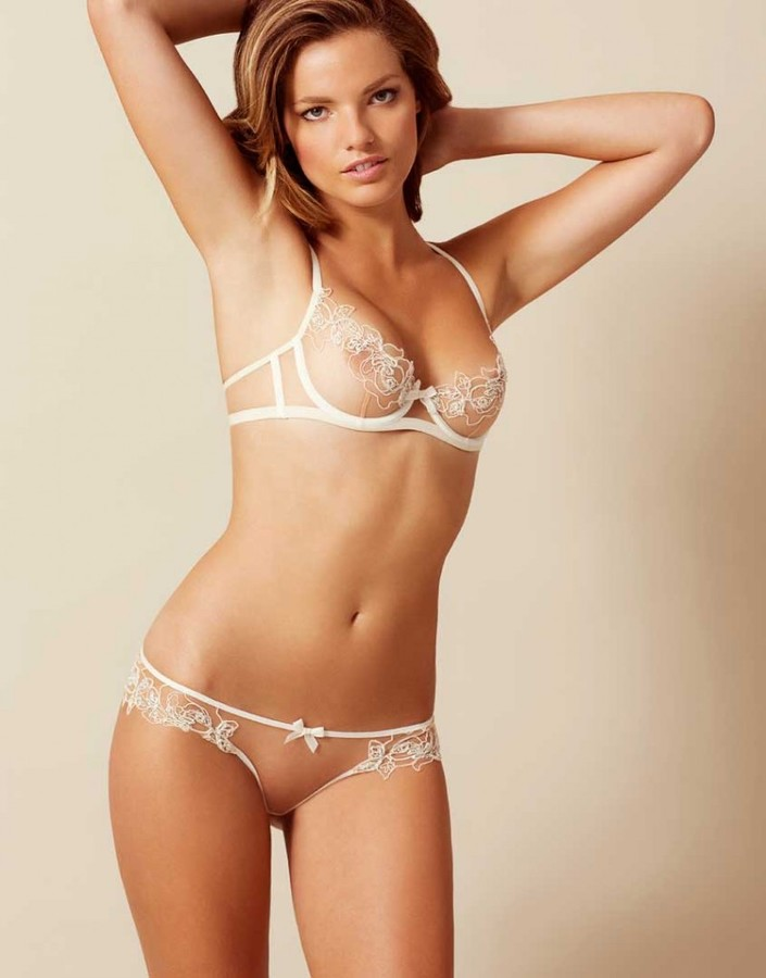 Agent ProvocateurLindie Brief Nude And Ivory