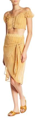 Dee Elly Kendall Tulip Hem Skirt