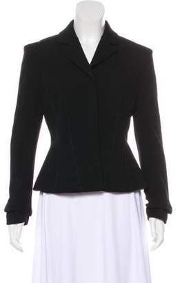 Diane von Furstenberg Notch-Lapel Wool Jacket w/ Tags