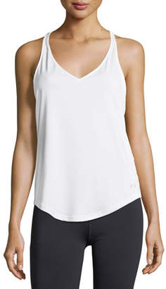 Under Armour Flashy V-Neck Racerback Studio Tank Top