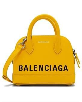 Balenciaga Black Bb Round Bag Medium