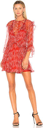 IRO Canyon Dress in Red $583 thestylecure.com