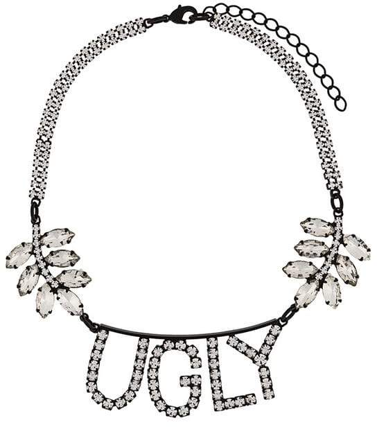 Ashley Williams bejewelled necklace