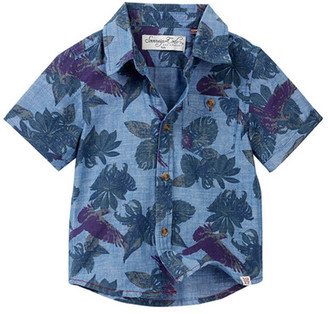 Sovereign Code Abram Button Front Shirt (Baby Boys) $38 thestylecure.com
