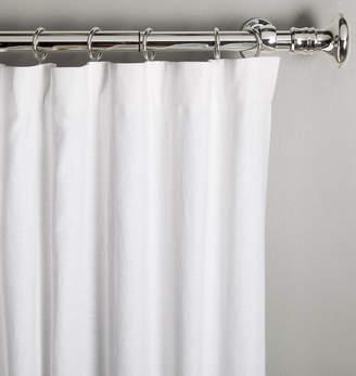 Rejuvenation White Linen/Cotton Drapery Panel