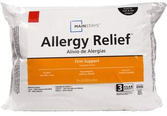 Mainstays Allergy Relief Hypoallergenic Down Alternative Pillow, King