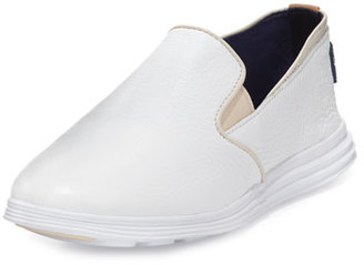 Cole Haan Ella Grand 2 Slip-On Sneaker, White $120 thestylecure.com