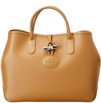 Longchamp Roseau Small Leather Tote