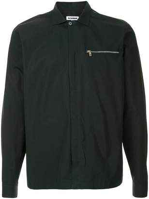 Jil Sander zipped pocket shirt