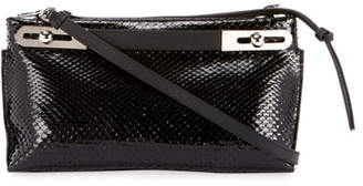 Loewe Missy Small Python Clutch Bag