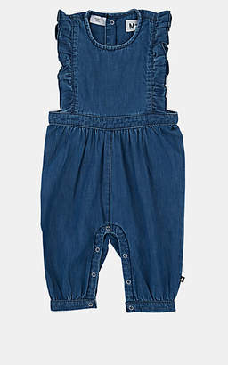 96c4f378374a Molo Kids Infants  Fabia Cotton Chambray Romper - Blue
